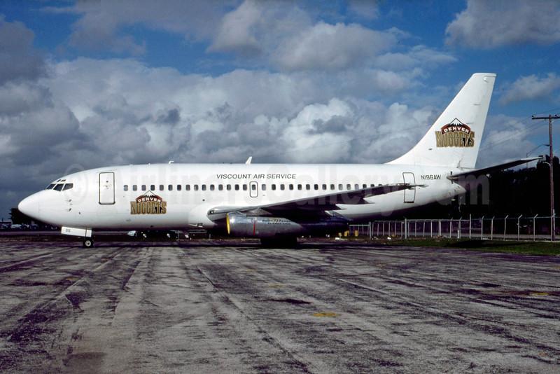 Team charter plane for Denver Nuggets