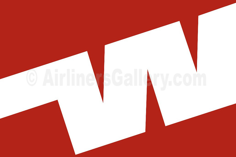 1. Western Airlines (1st) logo
