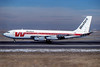 Western Airlines Boeing 720-047B N3167 (msn 19523) DEN (John B. Hayes). Image: 940542.