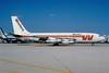 Western Airlines Boeing 720-047B N3162 (msn 19208) MIA (Bruce Drum). Image: 102269.