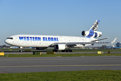 Western Global Airlines - WGA McDonnell Douglas MD-11 (F) N542KD (msn 48542) AMS (Ton Jochems). Image: 952561.