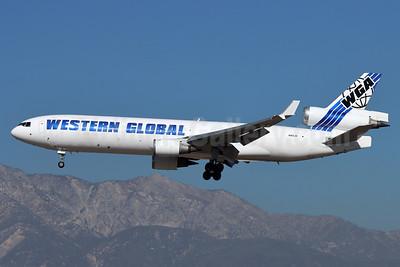 Western Global Airlines - WGA McDonnell Douglas MD-11 (F) N415JN (msn 48415) ONT (Michael B. Ing). Image: 953560.