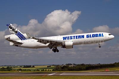Western Global Airlines - WGA McDonnell Douglas MD-11 (F) N412SN (msn 48412) LGG (Rainer Bexten). Image: 951284.