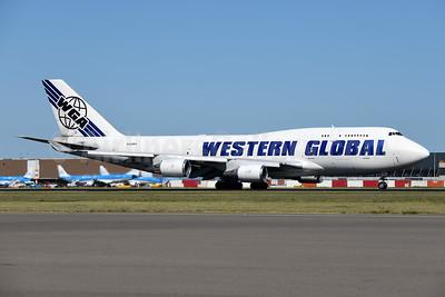 Western Global Airlines-WGA Boeing 747-446 (F) N344KD (msn 26344) AMS (Ton Jochems). Image: 950259.
