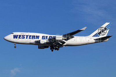 Western Global Airlines-WGA Boeing 747-446 (F) N356KD (msn 26356) LAX (Michael B. Ing). Image: 944873.