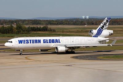 Western Global Airlines - WGA McDonnell Douglas MD-11 (F) N799JN (msn 48799) IAD (Brian McDonough). Image: 947727.