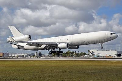 Western Global Airlines McDonnell Douglas MD-11 (F) N543JN (msn 48543) MIA (Bruce Drum). Image: 104589.