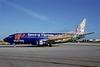 Western Pacific Airlines Boeing 737-317 N946WP (msn 23173) (Spirit of Durango-Purgatory Resort) MIA (Bruce Drum). Image: 102058.
