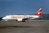 Western Pacific Airlines Boeing 737-3L9 N960WP (msn 23331) COS (Bruce Drum). Image: 102061.