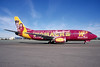 Western Pacific Airlines Boeing 737-3Y0 N962WP (msn 23748) (Cripple Creek Casino - Womacks) LAX (Winfried Giese - Bruce Dum Collection). Image: 921806.