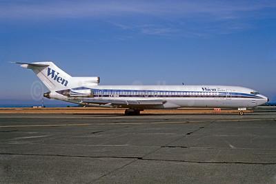 Wien Air Alaska Boeing 727-287 LV-MIM (msn 21688) (Aerolineas Argentinas colors) SEA (Bruce Drum). Image: 102513.