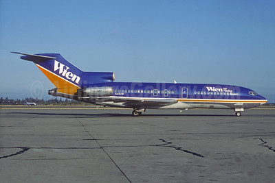 Wien Air Alaska' beautiful dark blue and gold 1981 livery - Best Seller
