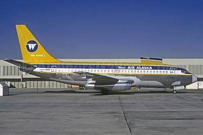Wien Air Alaska Boeing 737-210C N493WC (msn 21822) ATL (Christian Volpati Collection). Image: 909256.