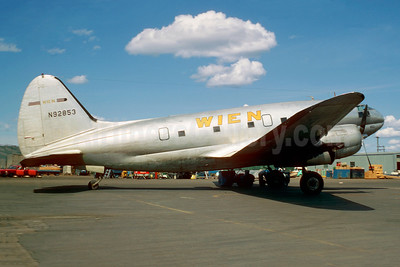 Wien Consolidated Airlines Curtiss C-46A-50-CU Commando N92853 (msn 30565) (Jacques Guillem Collection). Image: 944001.