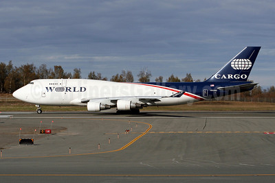 World Airways Boeing 747-4H6 (F) N741WA (msn 25702) ANC (Brian McDonough). Image: 907773.