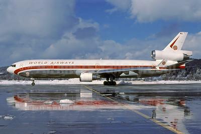 World Airways McDonnell Douglas MD-11 N803DE (msn 48474) ZRH (Rolf Wallner). Image: 940034.