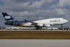 World Airways Boeing 747-4H6 (F) N740WA (msn 25700) MIA (Wade DeNero). Image: 901906.