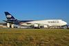 World Airways Boeing 747-4H6 (F) N740WA (msn 25700) FRA (Bernhard Ross). Image: 940803.