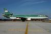 World Airways McDonnell Douglas MD-11 N272WA (msn 48437) (Aer Lingus colors) LAX (Roy Lock). Image: 923324.