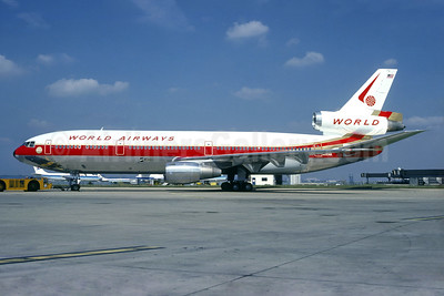 World Airways McDonnell Douglas DC-10-30 N105WA (msn 46891) ORY (Christian Volpati). Image: 940802.