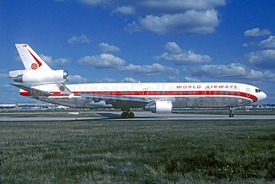 World Airways McDonnell Douglas MD-11 N803DE (msn 48474) FRA (Christian Volpati Collection). Image: 940900.