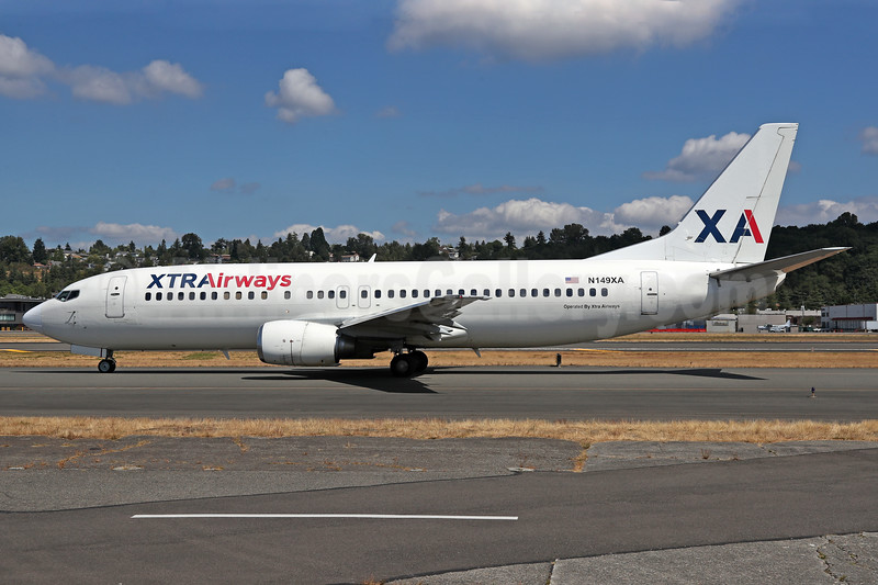 XTRAirways (Xtra Airways) Boeing 737-484 N149XA (msn 27149) BFI (James Helbock). I(mage: 939079.