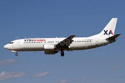 XTRAirways (Xtra Airways) Boeing 737-484 N353AS (msn 25313) BWI (Brian McDonough). Image: 935148.