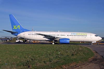 Xtra Airways Boeing 737-86N G-XLAG (msn 33003) (Excel Airways colors) QLA (Antony J. Best). Image: 902609.