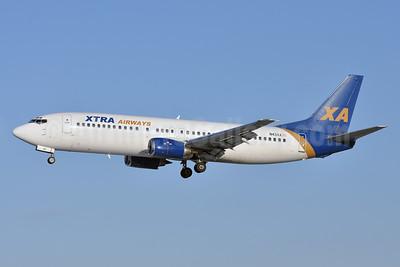 Xtra Airways Boeing 737-4S3 N43XA (msn 24796) BWI (Tony Storck). Image: 926099.