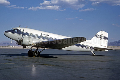 Zantop Air Transport Douglas DC-3A-197E N33644 (msn 4123) (Jacques Guillem Collection). Image: 937863.