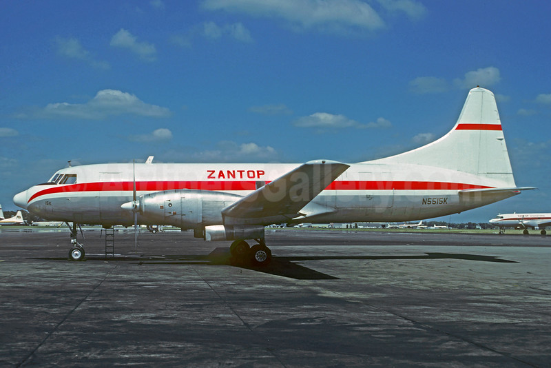Zantop International Airlines Convair 640 (F) N5515K (msn 133) YIP (Christian Volpati Collection). Image: 932692.