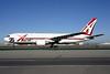 ABX Air Boeing 767-281 (F) N792AX (msn 23142) (25th Anniversary logo) SFO (Mark Durbin). Image: 901233.