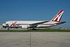 ABX Air Boeing 767-281 (F) N792AX (msn 23142) (25th Anniversary logo) MIA (Bruce Drum). Image: 102013.