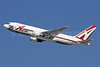 ABX Air Boeing 767-281 (F) N792AX (msn 23142) (25th Anniversary logo) LAX (Michael B. Ing). Image: 910655.