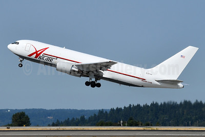 ABX Air Boeing 767-281 (F) N797AX (msn 23147) SEA (Bruce Drum). Image: 105244.