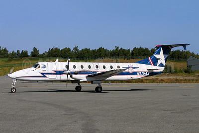 ACE (Alaska Central Express) Beech (Raytheon) 1900C N115AX (msn UC-2) ANC (Wingnut). Image: 943975.