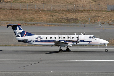 ACE (Alaska Central Express) Beech (Raytheon) 1900C N115AX (msn UC-2) ANC (Brian McDonough). Image: 906491.