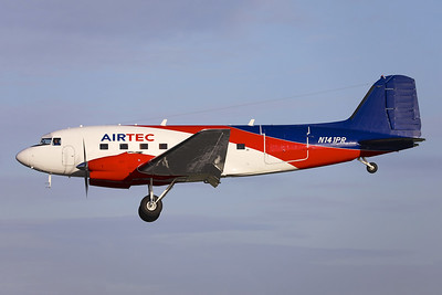AIRtec Basler BT-67 Turbo DC-3 (DC-3C-S13G) N141PR (msn 9043) DUB (Greenwing). Image: 945232.