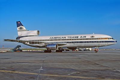 American Trans Air-ATA Lockheed L-1011-385-1 TriStar 1 N189AT (msn 1081) YYZ (TMK Photography). Image: 937993.