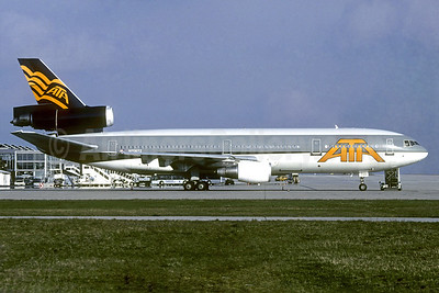 ATA Airlines McDonnell Douglas DC-10-30 N706TZ (msn 46582) (Northwest Airlines fuselage colors) MUC (Christian Volpati Collection). Image: 938005.