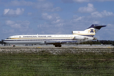American Trans Air-ATA Boeing 727-264 N764AT (msn 22984) FLL (Christian Volpati Collection). Image: 936749.