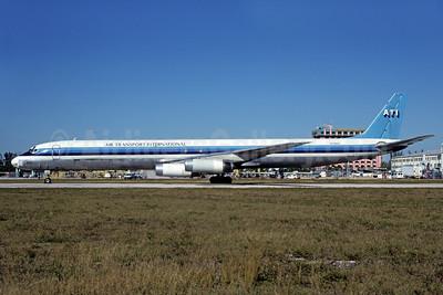 ATI-Air Transport International McDonnell Douglas DC-8-63 (F) N788AL (msn 45999) MIA (Bruce Drum). Image: 102178.