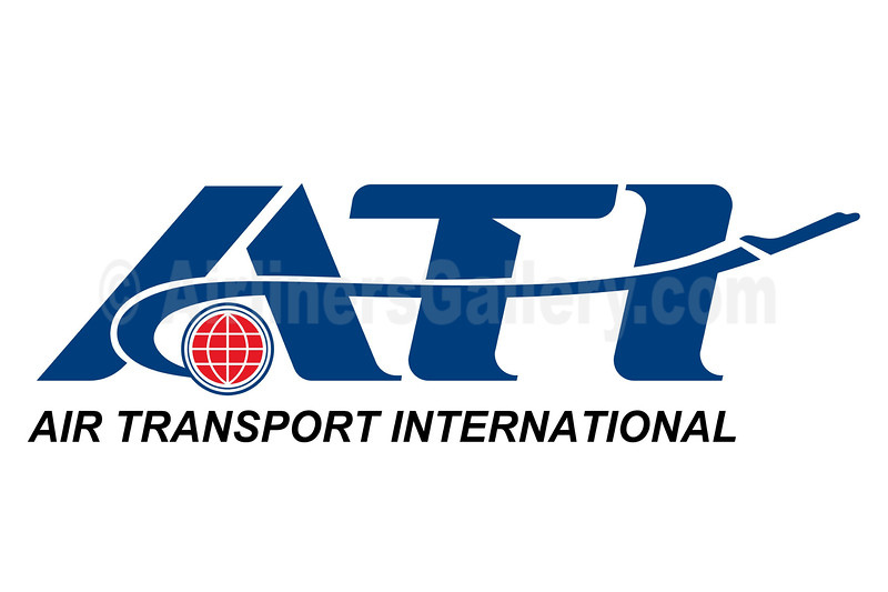 1. Air Transport International-ATI logo