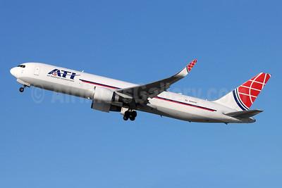 ATI-Air Transport International Boeing 767-323 ER (F) WL N395CM (msn 25447) LAX (Michael B. Ing). Image: 953036.