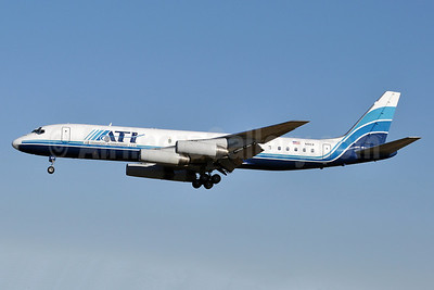 ATI-Air Transport International McDonnell Douglas DC-8-62 (F) N41CX (msn 46129) BWI (Tony Storck). Image: 911224.