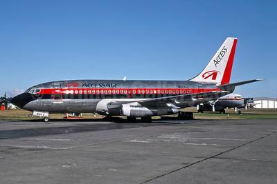 AccessAir Boeing 737-230 N624AC (msn 23161) YXX (Erik Johannesson - Rob Rindt Collection). Image: 947973.