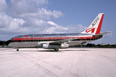 AccessAir Boeing 737-230 N621AC (msn 23156) MIA (Bruce Drum). Image: 105082.