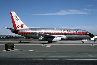 AccessAir Boeing 737-230 N623AC (msn 23157) LAX (Roy Lock). Image: 946978.
