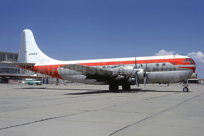 Aero Spacelines Boeing 377-10-30 Stratocruiser N74603 (msn 15949) (basic Northwest colors) (Christian Volpati Collection). Image: 950122.