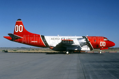 "Aero Union (USA) Lockheed P-3A Aerostar (Orion) N900AU (msn 5104) ""00"" OCF (Jacques Guillem Collection). Image: 939627."